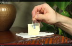 fazer uma vela para emergências com manteiga e papel