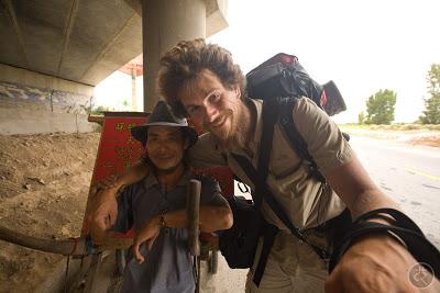 viajar a pé pela China
