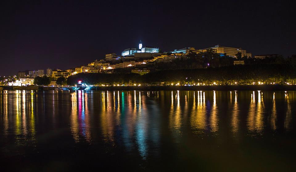 Coimbra iluminação pública mondego led