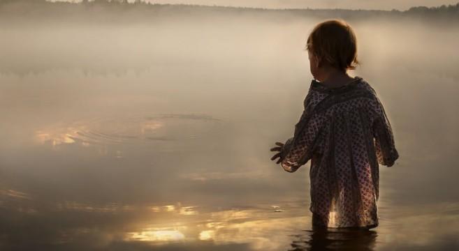 animais crianças quinta fotografia Elena Shumilova lago