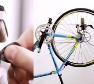 melodia feita com bicicleta