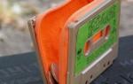 faça você mesmo uma carteira com uma cassete velha