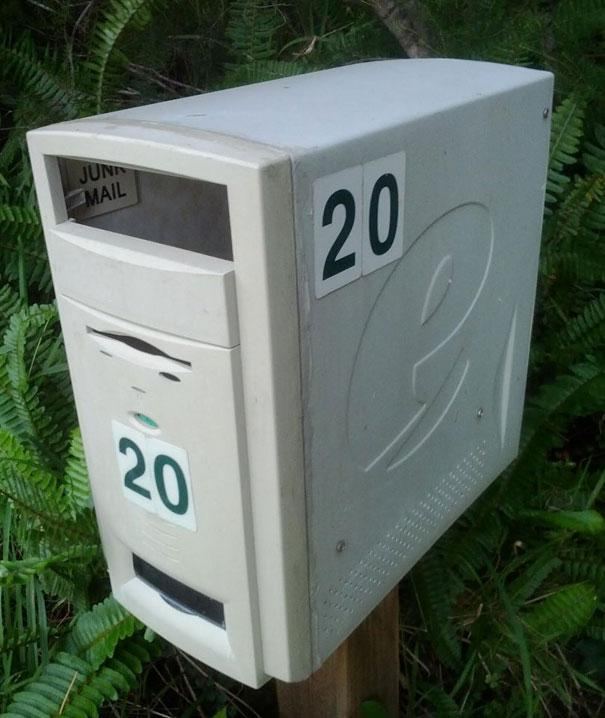reutilizar computador correio faça você mesmo