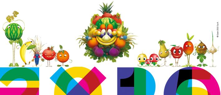 foody mascote expo 2015 milano milão