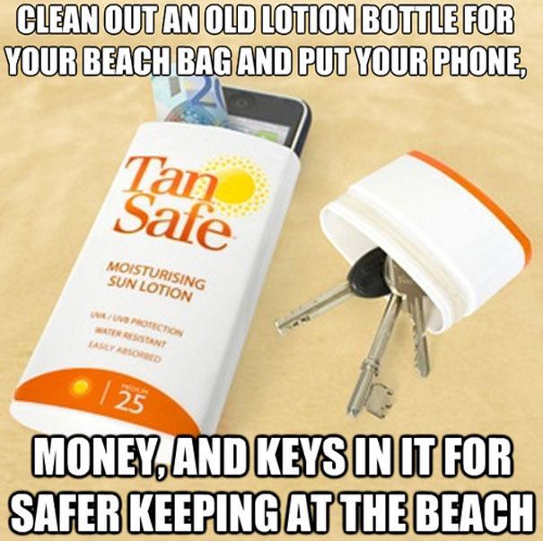 reutilizar embalagem de protetor solar faça você mesmo
