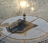 espelhos, energia solar