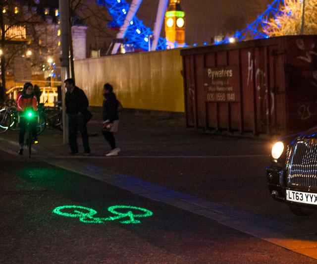 nova luz para colocar nas bicicletas
