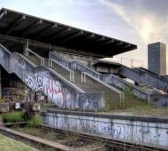 Edifícios abandonados depois dos Jogos Olímpicos em Munique, Aleman