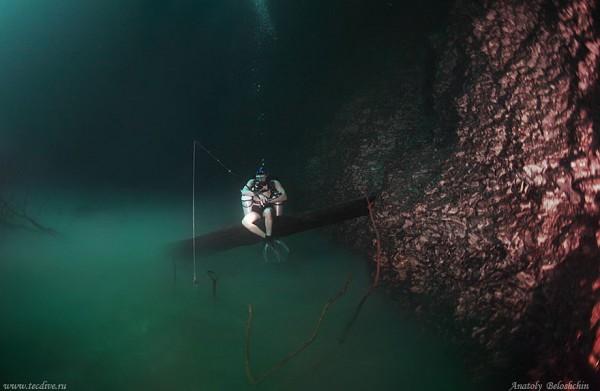 rio-salgado-cenote-angelita-mexico-pescar