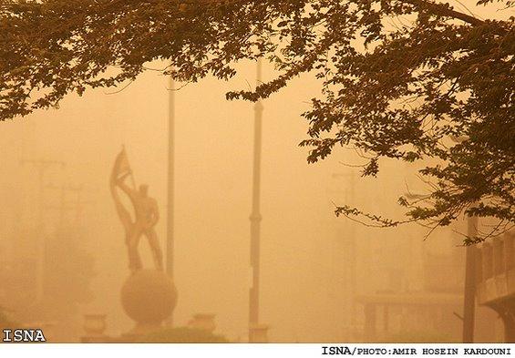 Ahvaz cidade mais poluida do mundo