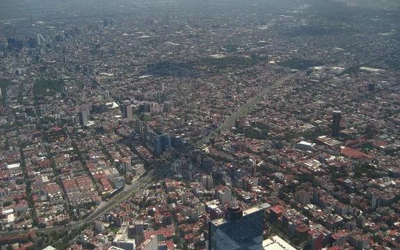 Cidade de México poluição tráfego