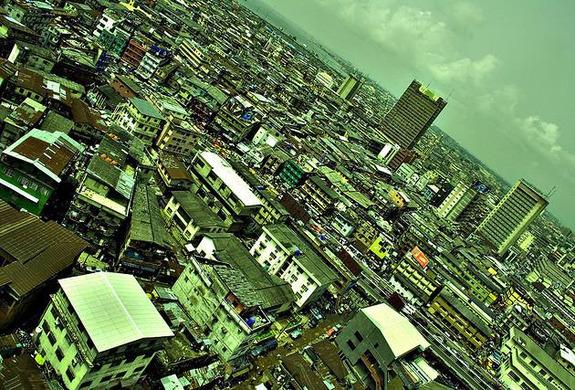 Lagos Nigéria África poluição