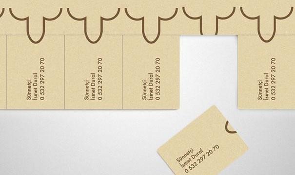 cartão de visita original circuncisão