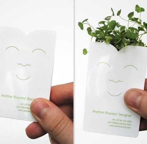cartão de visita original designer