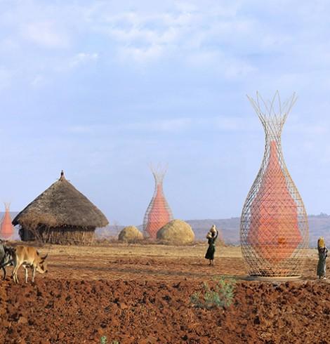 warka-water etiópia água