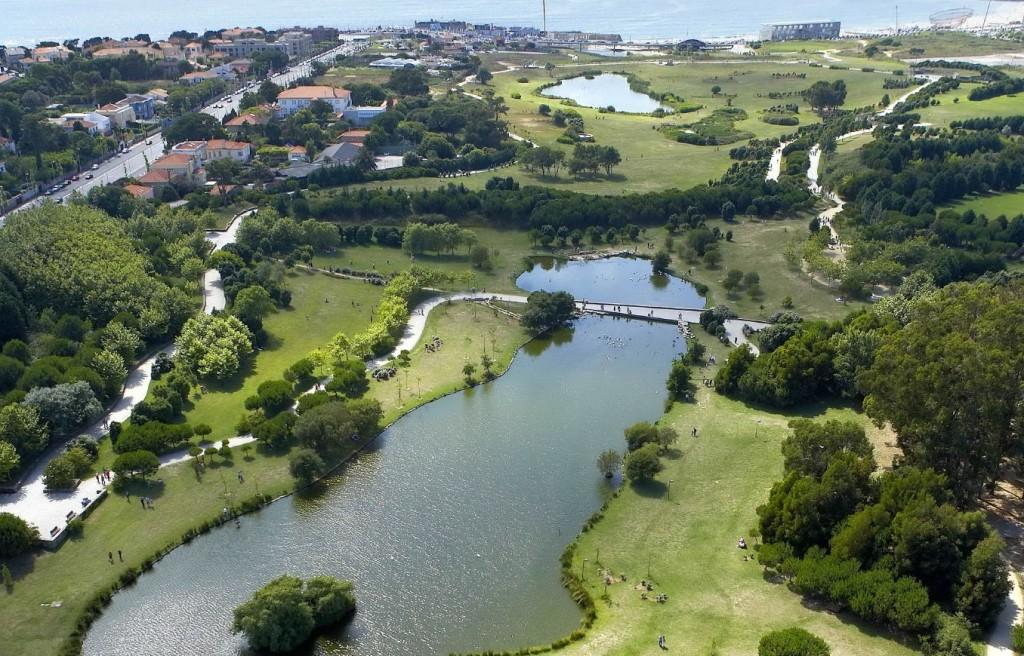 parque da cidade porto lago jardim