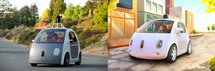 Vehicle-Prototype google carro