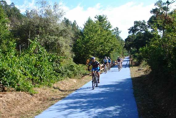 ecopista bicicletas exercício parque