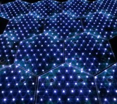 estrada LED solar roadways