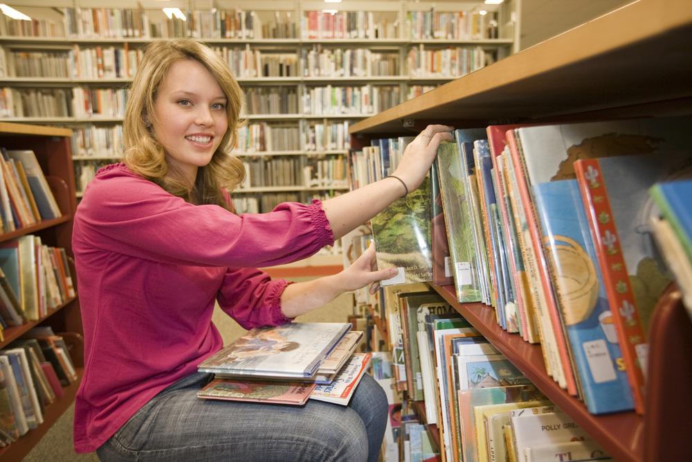library bibliotecária