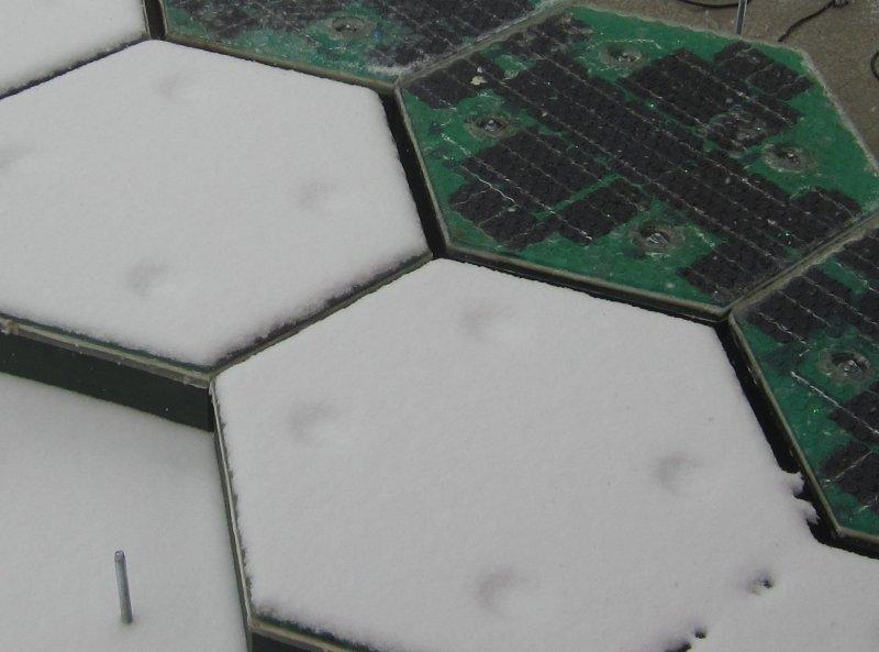 paineis solares fotovoltaicos estrada solar neve