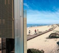 torre turística transportável praia