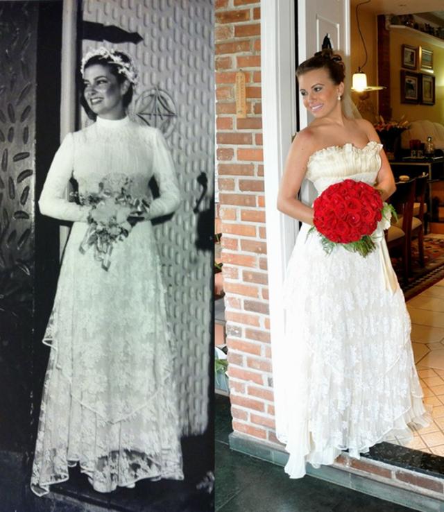 vestido de noiva renovado casamento sustentável