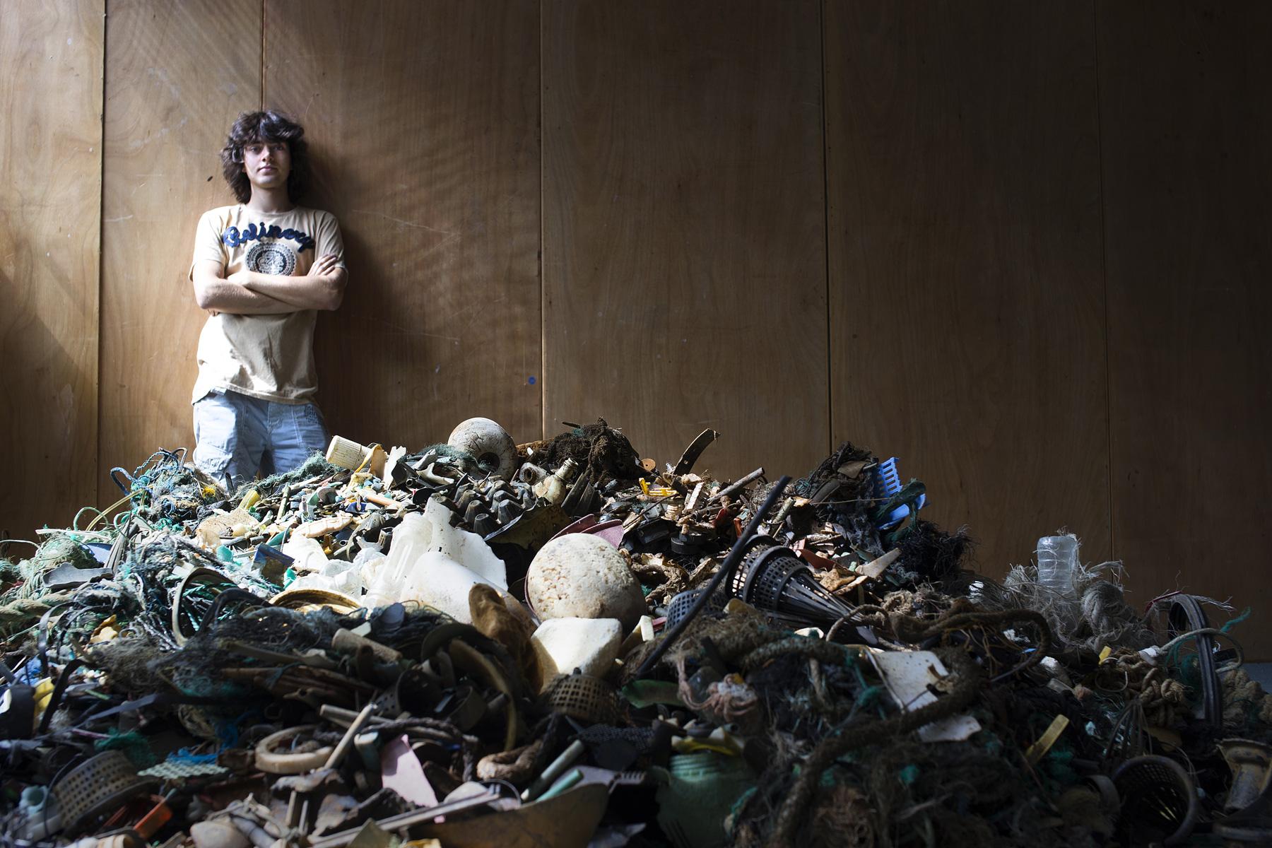 Boyan limpar plástico dos oceanos