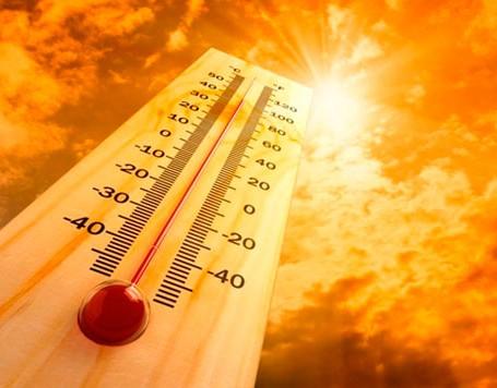 calor termometro sol ar condicionado