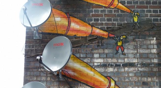 creative-interactive-street-art-telescópio antenas