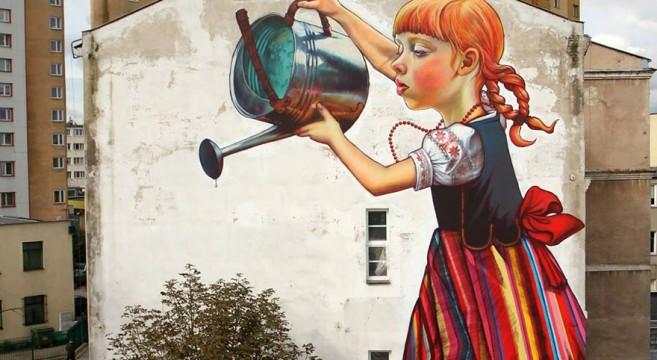 creative-interactive-street-arte urbana polónia