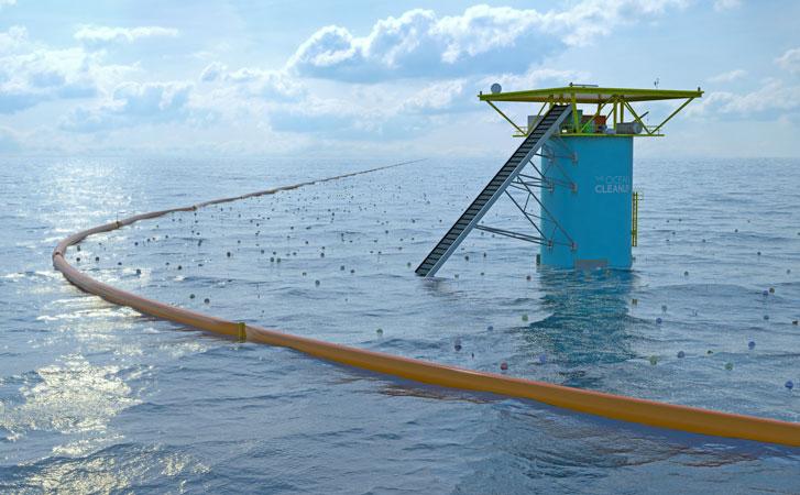 estação resíduos oceano ocean cleanupestação resíduos oceano ocean cleanup