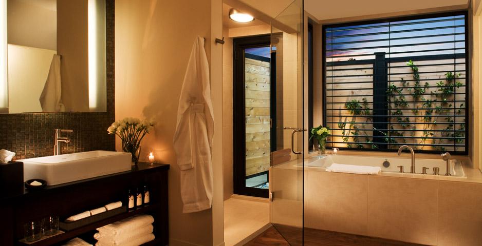 hotel luxo sustentável ecológico quarto bardessono