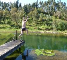 lago piscina biológica