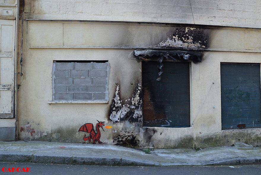 creative-street-art-oakoak-arte interativa