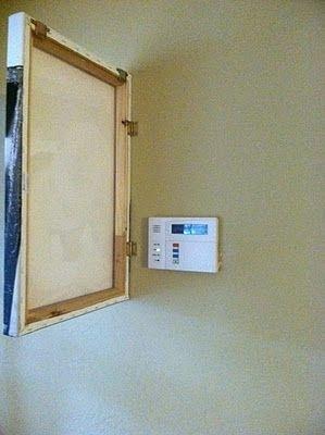 disfarçar termostato quadro