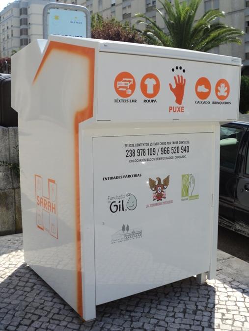 ecoponto roupa reciclagem reciclar
