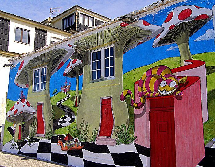 ericeira portugal casa pintada arte