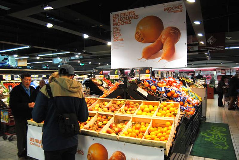fruta laranjas feias supermercado