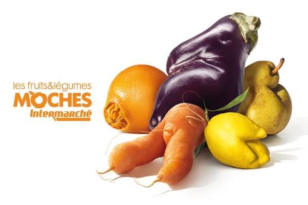 fruta feia legumes vegetais intermarche supermercado
