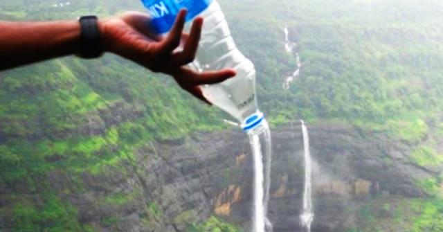 garrafa de água aeroporto