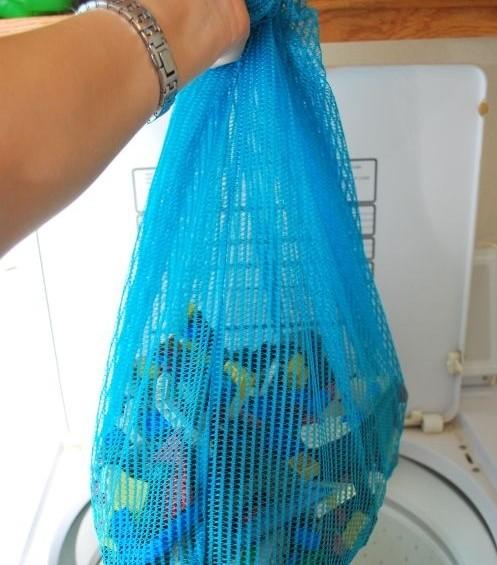limpar legos na máquina lavar roupa