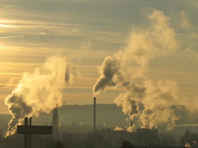 poluição indústria fábricas carbono nanotubos