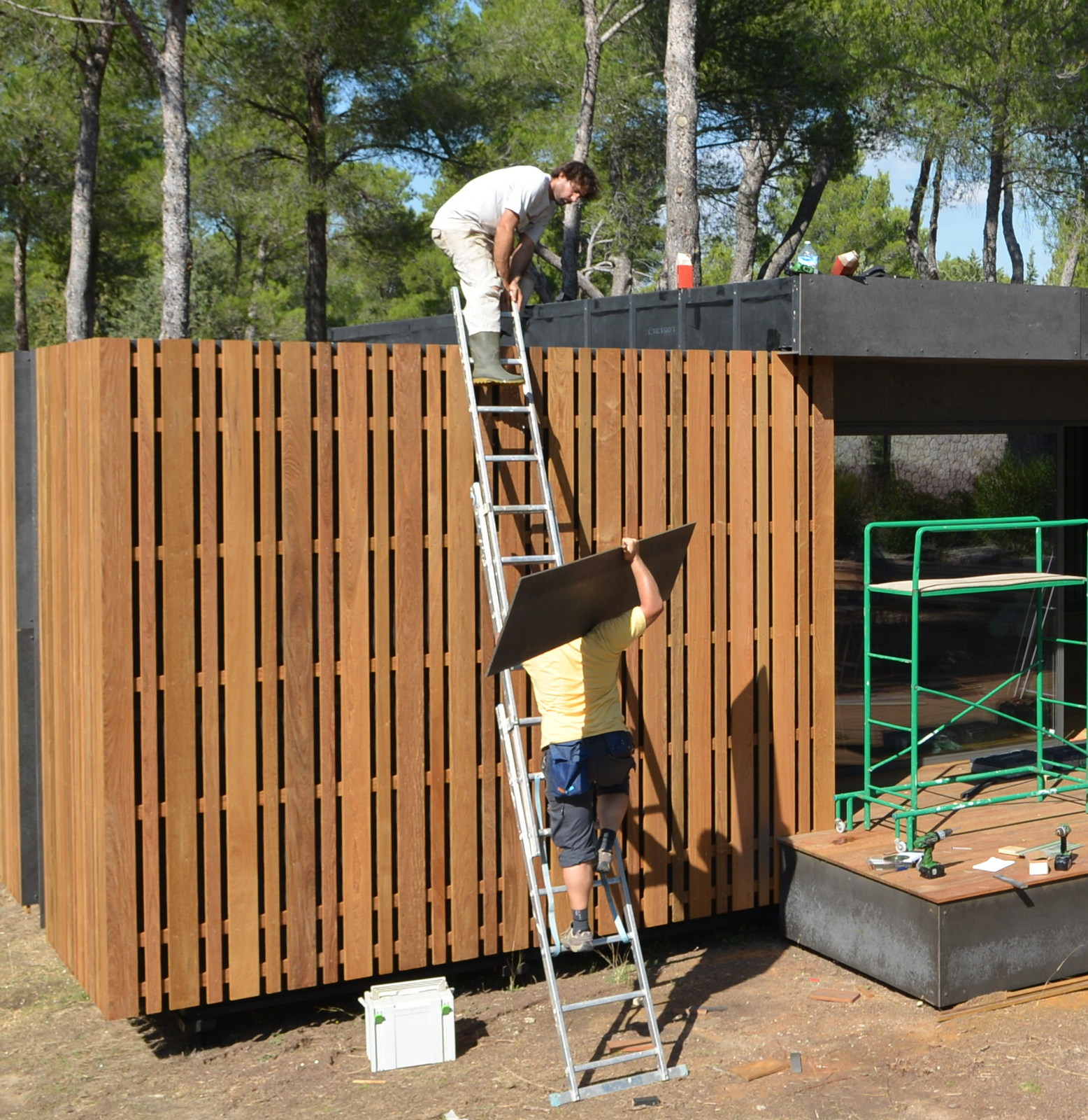 pop-up house casa pre-fabricada multipod