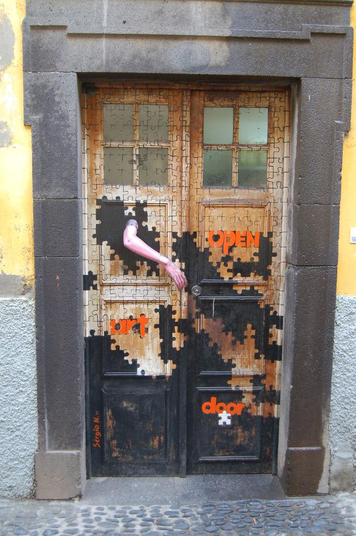 porta funchal arte