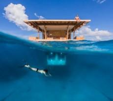 the-manta-resort-underwater room hotel debaixo de água