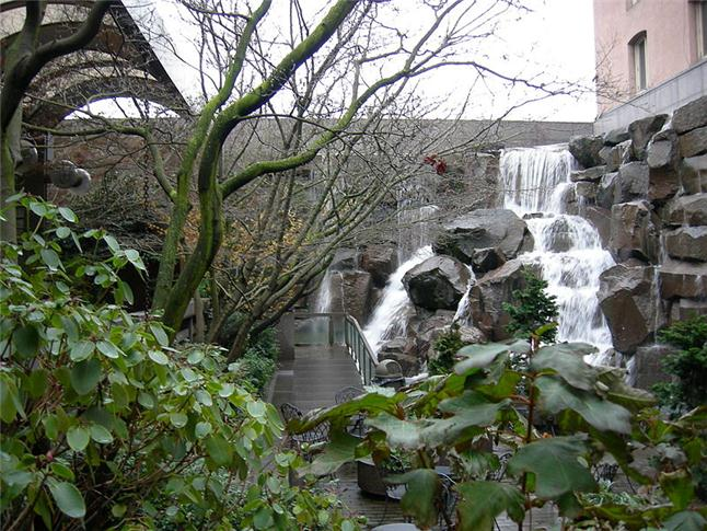 Waterfall Garden Park, Seattle, Washington
