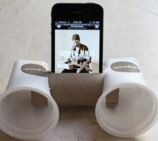 colunas diy telemóvel iphone