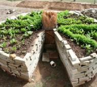 horta circular permacultura mandala