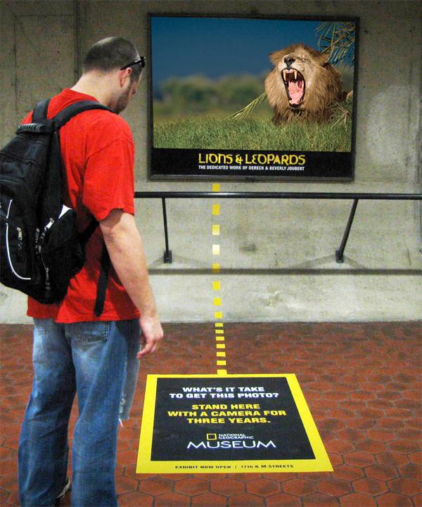 publicidade national geographic museu